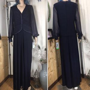 NWT Blue Formal Patra Dress size 10